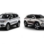 Какой автомобиль лучше купить Ford Kuga или Hyundai Tucson?
