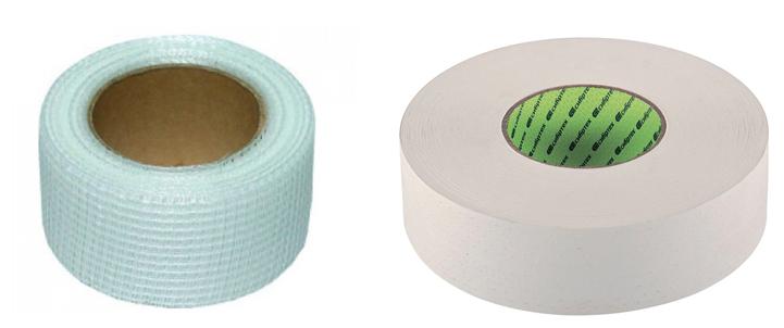 Серпянка и бумажная лента