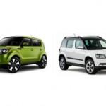 Какой автомобиль лучше купить Kia Soul или Skoda Yeti