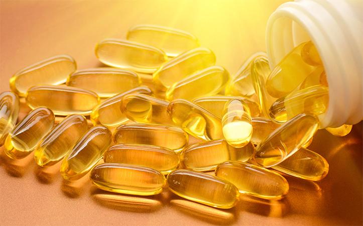 Витамин D в капсулах