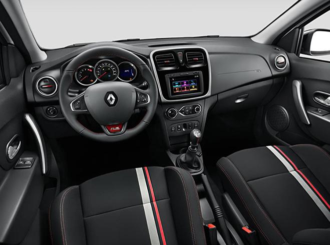 Салон Renault Sandero