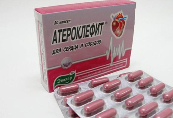 Атероклефит в капсулах