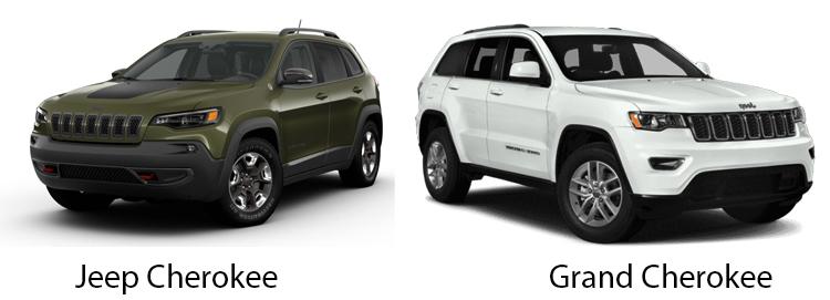 Jeep Cherokee и Grand Cherokee