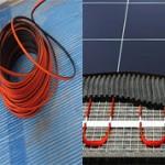 Какой теплый пол лучше кабель или маты?