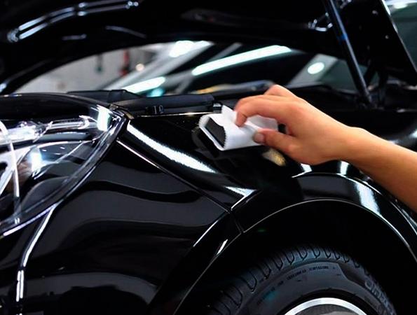 Покрытие автомобиля керамикой