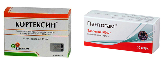 Кортексин и Пантогам
