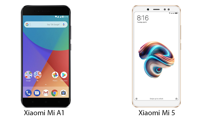 Xiaomi Mi A1 и Mi5