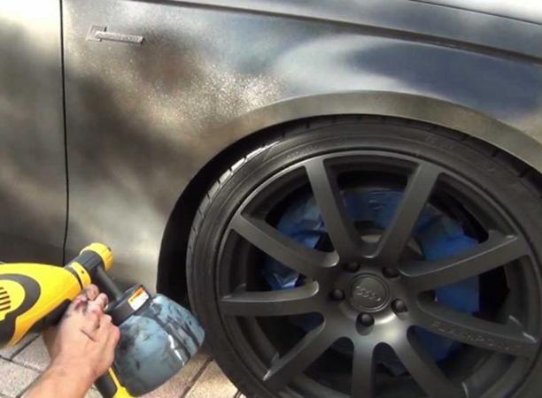 Нанесение покрытия на автомобиль