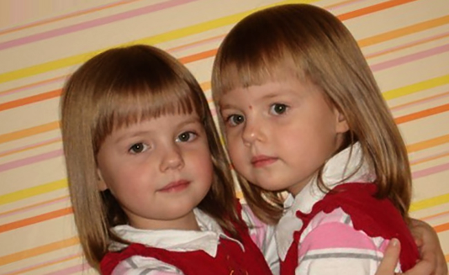Однояйцевые близняшки