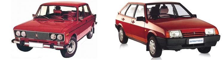 ВАЗ 2106 и ВАЗ 2109