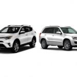 Toyota RAV4 или Suzuki Grand Vitara: сравнение кроссоверов и что лучше?