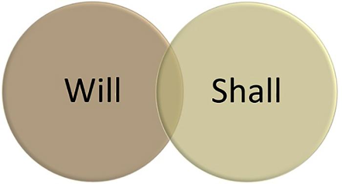 Will и Shall