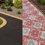 Какое покрытие лучше асфальт или тротуарная плитка?