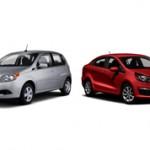 Chevrolet Aveo и Kia Rio: сравнение автомобилей и что лучше