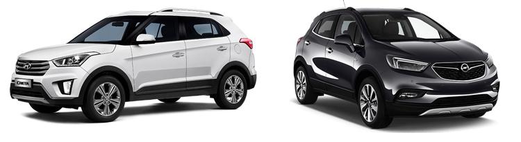 Hyundai Creta и Opel Mokka