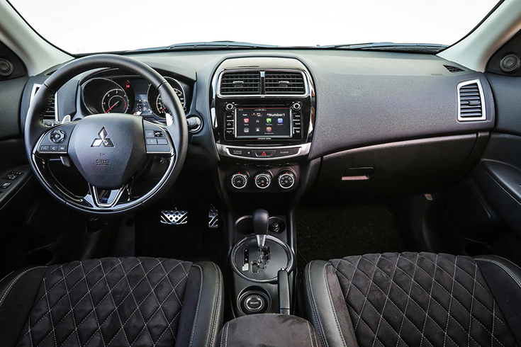 Салон Mitsubishi ASX