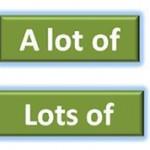Разница между фразами lot of и lots of?