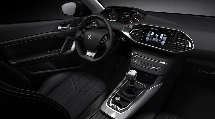 Салон Peugeot 308