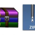 Какой формат лучше сжимает rar или zip