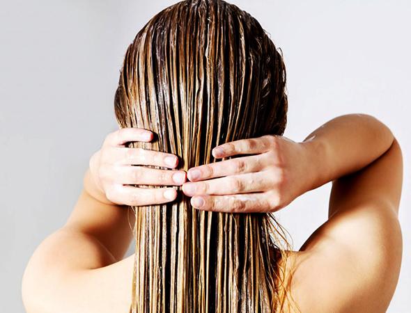Волосы с бальзамом