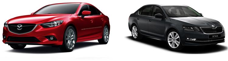 Mazda 6 или Skoda Octavia