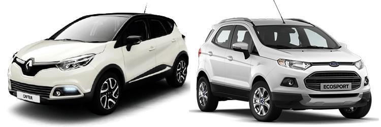 Renault Captur и Ford EcoSport