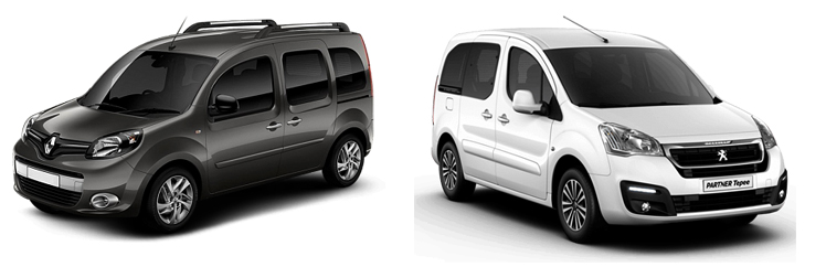 Renault Kangoo и Peugeot Partner