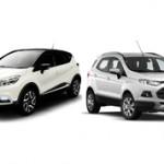 Какой автомобиль лучше Renault Captur или Ford EcoSport