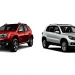 Какой автомобиль лучше Renault Duster или Volkswagen Tiguan