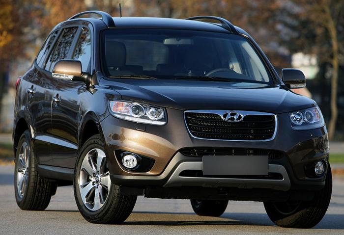 Бензиновый Hyundai Santa Fe