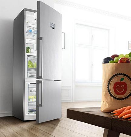Холодильник Bosch дома