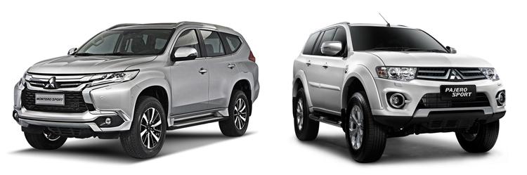 Mitsubishi Montero Sport и Pajero Sport
