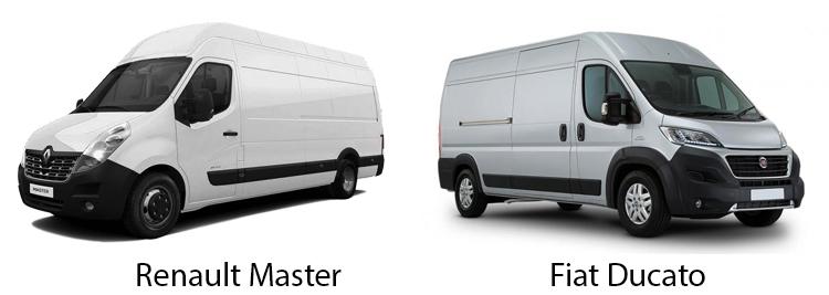 Renault Master и Fiat Ducato