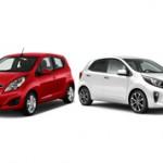 Chevrolet Spark или Kia Picanto — сравнение автомобилей и что лучше