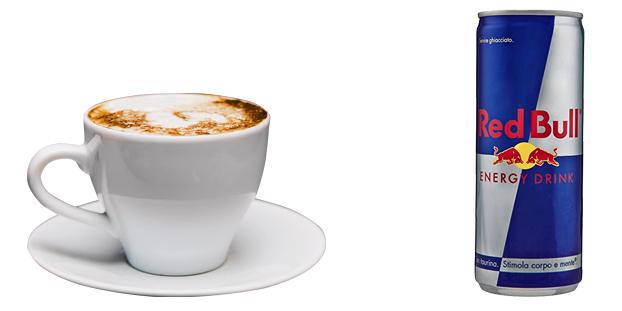 Кофе и энергетик
