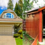Какой гараж лучше в доме или отдельно от него