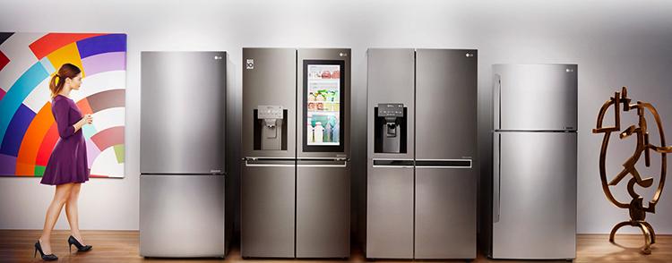 Холодильники фирмы LG