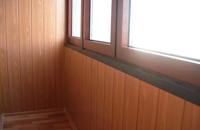 МДФ на балконе