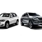 Какой кроссовер лучше BMW X5 или Mercedes-Benz M?