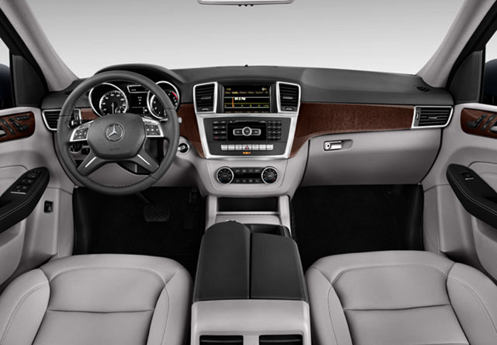 Салон Mercedes-Benz M