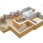 Разница между жилой и общей площадью квартиры