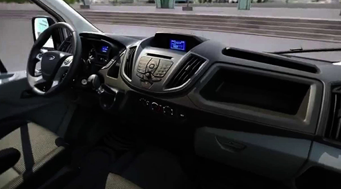 Салон Ford Transit