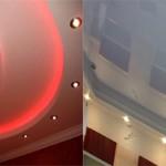 Разница между навесными и натяжными потолками