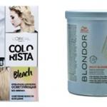 Чем лучше осветлять волосы краской или порошком