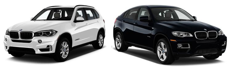 BMW X5 и BMW X6