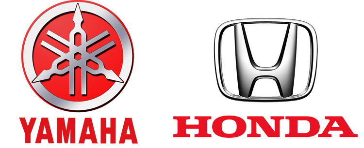 Yamaha и Honda