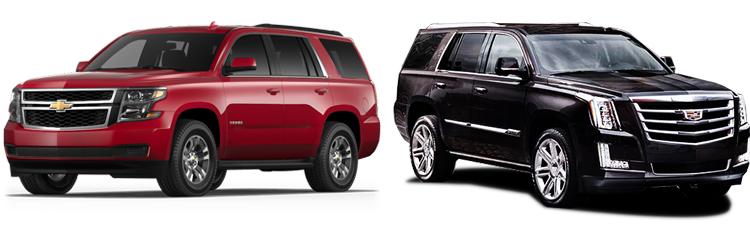 Chevrolet Tahoe и Cadillac Escalade