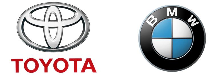 Тойота и БМВ
