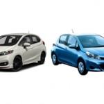 Какой автомобиль лучше Honda Fit или Toyota Vitz?