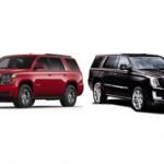 Какой внедорожник лучше взять Chevrolet Tahoe или Cadillac Escalade?
